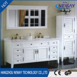 固体木の旧式で贅沢な浴室の家具を立てる床
