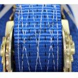 3tonnes polyester bleu d'arrimage à cliquet