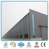 Atelier léger d'entrepôt de construction isolé par poutre en double T préfabriquée de structure métallique