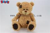 Brown Patch de pelúcia ursinho de brinquedo com grande barriga