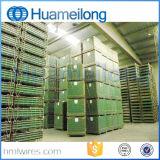 Zusammenklappbares Lager-faltbarer Stahlspeicher-Rahmen