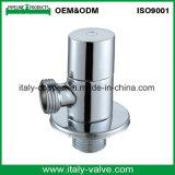 Valvola di angolo cromata ottone di lucidatura di qualità di OEM&ODM (AV3025)