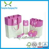 Papier personnalisé Cadeau Shopping Package Impression de sac