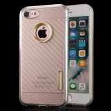 Caso Telefone celular TPU de borracha para iPhone 7 Plus iPhone7