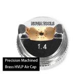 Injetor de pulverizador favorável ao meio ambiente H881A da gravidade do Voc de HVLP (baixa pressão do volume alto)