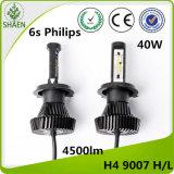 Venta al por mayor 4500lm 6s de la linterna del coche LED de Philips H4 H/L
