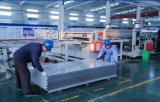 El panel compuesto de aluminio del material de construcción con la capa del color