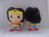 Wonder Doll van de Pluche van de Vrouw - van de Rechtvaardigheid van de Liga het Stuk speelgoed van de Pluche van de Kinderen van de gelijkstroom- Strippagina