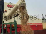 Machine de récolte de grain de soja au riz de blé chinois