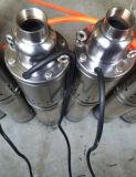 Pomp Met duikvermogen van het Water van het roestvrij staal de Elektrische (4QGD REEKS) 0.37kw/0.5HP