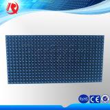 Semioutdoor ao ar livre que anuncia o único módulo azul do indicador de diodo emissor de luz da cor P10