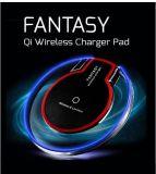 K9 de cristal de la fábrica de cargador inalámbrico 5V 1una fantasía Desk Pad para carga de teléfono celular Samsung iPhone Universal