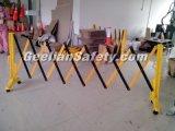 Barrera plegable del tráfico/barrera retractable del tráfico del tráfico de la seguridad plástica de la barrera