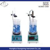 Équipement de laboratoire Agitateur magnétique pour le chauffage et l'agitation