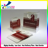 Promotional Boutique Logo Printed Recyclable Paper Shopping Bags