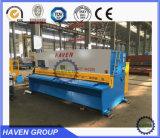 유압 그네 광속 가위, 세륨 기준을%s 가진 CNC 유압 깎는 기계