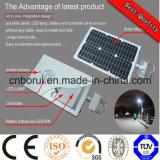 Diferentes económica vatio de energía solar integrado Calle luz LED LED de 90 vatios de luz de la calle Ce Certificación CC