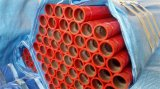 UL FM ASTM A135 Sch40の赤い塗られた防火スプリンクラー鋼管