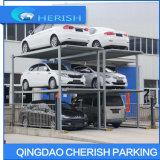Sistema di parcheggio dell'automobile dell'azionamento del motore in pozzo