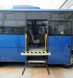 Table élévatrice électrique et hydraulique de fauteuil roulant de ciseaux pour le bus (WL-UVL)
