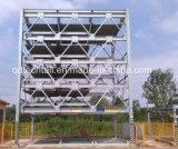 Sistema Vertical-Horizontal del estacionamiento del coche de la capa +6-3