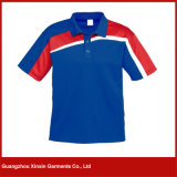 Mens 짧은 소매는 주문 설계한다 스포츠 폴로 셔츠 (P90)를