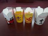 Caixas afastadas do alimento do restaurante para a massa do arroz dos macarronetes (NPC-002)