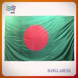 Bandiera nazionale 100% del Bengala del poliestere (HYNF-AF003)