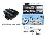 H. 264 автомобиль DVR жёсткия диска 4CH Ht-6505 с CE пропуска функции GPS (HT-6505)