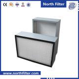 H13/H14はHEPAのガラス繊維フィルターを小型プリーツをつける