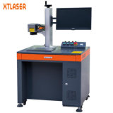 Máquina de aço da marcação do laser da fibra do metal etc. com caso protetor