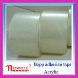 De acryl Band van de Verpakking van het Gebruik BOPP van de Kleefstof en van het Karton Verzegelende Duidelijke