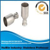 304 316 acier inoxydable 45 coude de tube de 90 180 du degré 1/2 garnitures de pipe sanitaire