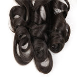 Extensão do cabelo do rabo de cavalo, cabelo sintético, rabo de cavalo
