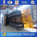 Des Chinese-3 Ladung-Schlussteil-LKW Wellen-Ladung-des Schlussteil-60t u. Kasten-Schlussteil