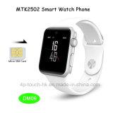Вахта Android запястья руки цифров Bluetooth экрана касания франтовской с гнездом для платы Dm09 SIM