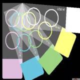 Glissières de microscope couleur 7109