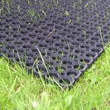 Esteras huecos de goma del suelo de la cocina de la hierba