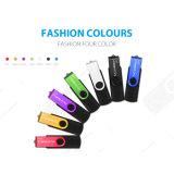 자유로운 로고 회전대 OTG USB 섬광 드라이브 3.0 형식 색깔 기억 장치 지팡이를 주문을 받아서 만드십시오