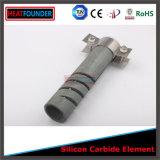 O Sc datilografa elementos de aquecimento do carboneto de silicone (zona quente 25cm)