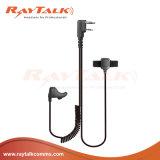 Cuffia avricolare di conduzione di osso dell'orecchio del walkie-talkie per Kenwood 2 radio di Pin