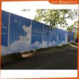Montage mural extérieur Promotion publicitairebannière de format personnalisé
