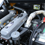 ディーゼルフォークリフト日本エンジンを搭載する2500キログラム