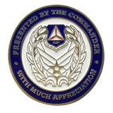 Esmalte suave de alta calidad de la moneda de metal de logotipo personalizado