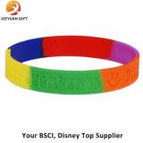 Heißer Verkauf Debossed spezieller SilikonWristband
