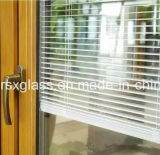 Blinds+Glass, finestra & vetro isolato portello con i ciechi all'interno