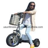 Самокат электрического колеса самоката 3 удобоподвижности колеса самоката 3 с ограниченными возможностями с стулом для инвалид