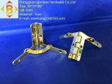 Bisagra del hardware de la bisagra del rectángulo de madera