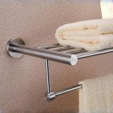 Cremagliera di tovagliolo del doppio dell'acciaio inossidabile per la stanza da bagno