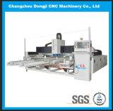 CNC 3 측 특별한 모양 유리제 테두리 및 닦는 기계